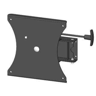 90 degree Rotate and Swing Bracket