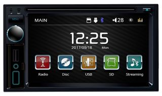 Double Din Multi-Media Radio