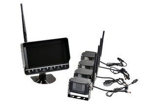 Wireless Reversing System with 7
