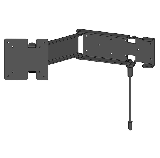 Slimline Swing Bracket with Lock