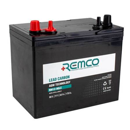 Remco Lead Carbon Battery 90 AH